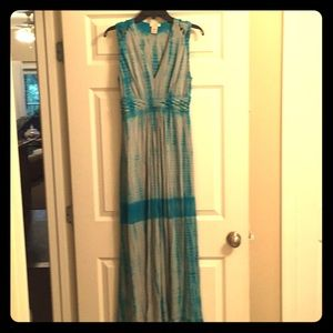 Maxi dress/tie dye